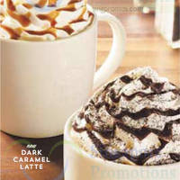 Starbucks NEW French Vanilla Latte & Dark Caramel Latte 18 Sep 2014