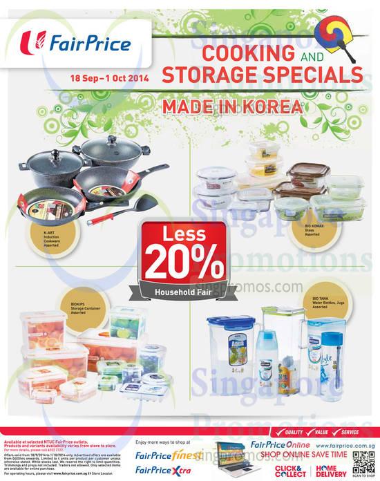 Storage Items Less 20 Percent Off