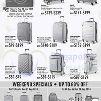 Read more about Takashimaya Luggage Fair Offers 18 - 30 Sep 2014
