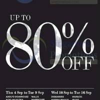 Read more about Takashimaya Up To 80% OFF Ladies' Bazaar 4 - 16 Sep 2014
