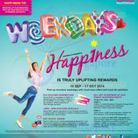 Read more about Tampines 1 Weekdays Happiness Promotions & Activities 15 Sep - 17 Oct 2014