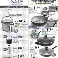 Tangs La Gourmet & Greenpan Kitchenware Offers 19 - 28 Sep 2014