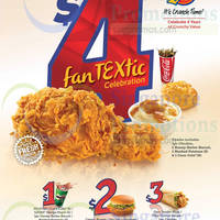 Read more about Texas Chicken 4th Anniversary Deals 11 Sep 2014