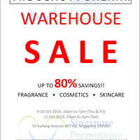 Simex Asia Pacific Beauty Bazaar Warehouse Sale 9 - 11 Oct 2014