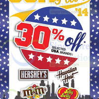Read more about The Cocoa Trees 30% OFF Selected USA Brands Promo 8 Sep - 12 Oct 2014