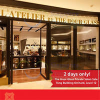 Read more about The Hour Glass Private Salon Sale For DBS/POSB Cardmembers 4 - 5 Sep 2014