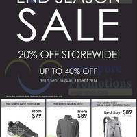 Read more about The North Face 20% OFF Storewide Promo 5 - 14 Sep 2014