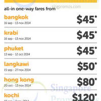Read more about TigerAir Best Sellers Promo Air Fares 3 - 7 Sep 2014