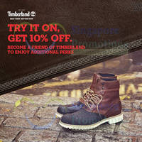 Read more about Timberland Try It On & Get 10% OFF 6 Sep 2014