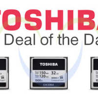 Read more about Toshiba Up To 60% OFF Compact Flash Memory Cards 24hr Promo 25 - 26 Sep 2014