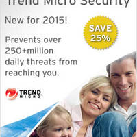 Trend Micro NEW 2015 Security Products 25% OFF Launch Promo 16 Sep 2014