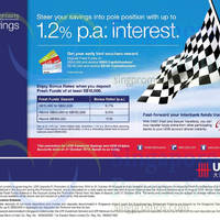 Read more about UOB Deposits Up To 1.2% p.a. Interest F1 Promo 2 Sep - 31 Oct 2014