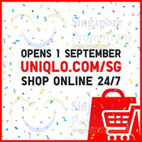 Read more about Uniqlo Online Store Opening Specials 1 - 11 Sep 2014