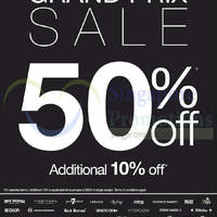 Read more about Evisu, Camper, Bread & Butter, True Religion & More 50% OFF Promo 12 Sep 2014