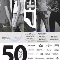 Read more about Evisu, Camper, Bread & Butter, True Religion & More 50% OFF Promo 5 Sep 2014
