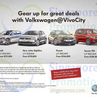 Read more about Volkswagen Offers @ VivoCity 27 - 28 Sep 2014