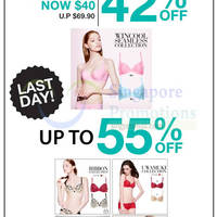Read more about Wacoal Up To 55% OFF 1-Day Sale 25 Sep 2014