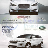 Read more about Jaguar XF & Range Rover Evoque Offer 6 Sep 2014