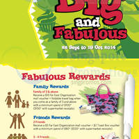 Read more about West Coast Plaza Big & Fabulous Promotions 22 Sep - 19 Oct 2014