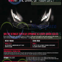 Read more about Wisma Atria Ultimate Supercar Experience Promotions 5 - 22 Sep 2014