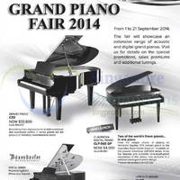 Read more about Yamaha Grand Piano Fair Offers 1 - 21 Sep 2014