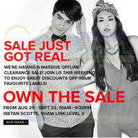 Read more about Zalora Clearance Sale @ Isetan Scotts 29 Aug - 22 Sep 2014