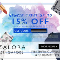 Read more about Zalora 15% OFF Storewide Coupon Code For New Users (NO Min Spend) 24 Sep - 31 Oct 2014