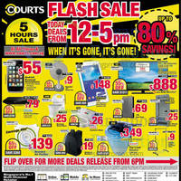Read more about Courts Flash Sale Up To 80% Off 1-Day Offers 24 Oct 2014