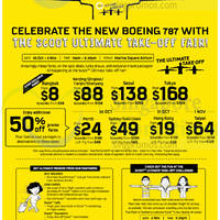 Read more about Scoot From $8 Air Fares Fair @ Marina Square 30 Oct - 2 Nov 2014