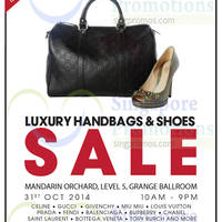 Read more about Brandsfever Handbags & Footwear Sale @ Mandarin Orchard 31 Oct - 1 Nov 2014