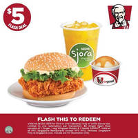 Read more about KFC $5 Zinger & Bandito Pockett Meals Dine-in & Takeaway Coupons 16 - 28 Oct 2014