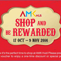 Read more about AMK Hub Shop & Be Rewarded Promotion 17 Oct - 9 Nov 2014