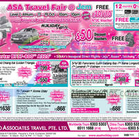 Read more about ASA Holidays Travel Fair @ Jem 17 - 19 Oct 2014