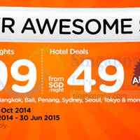 Read more about Air Asia Go From $49 Super Awesome Sale 6 - 15 Oct 2014