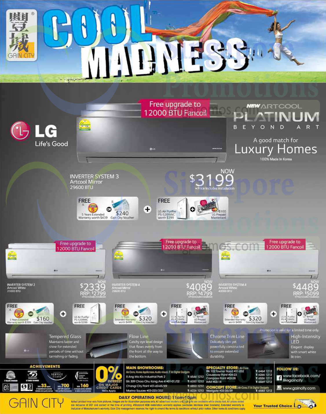 Air Conditioners, LG