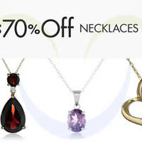 Read more about Amazon Up To 70% OFF Necklaces 24hr Promo 28 - 29 Oct 2014