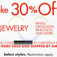 Read more about Amazon.com 30% OFF Jewellery Coupon Code (NO Min Spend) 20 Oct 2014
