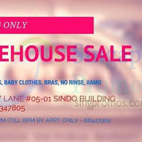 Annee Matthew Baby Items Warehouse Sale 23 - 24 Oct 2014