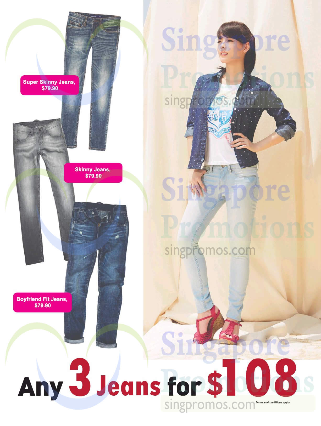 Any 3 Jeans for 108 Dollar, Super Skinny Jeans, Boyfriend Fit Jeans