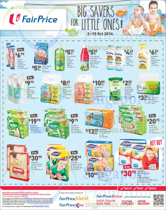 Huggies Total Protection, Drypers Wee Wee Dry Mega