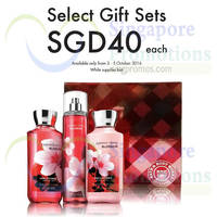 Read more about Bath & Body Works $40 Gift Sets Promo 3 - 5 Oct 2014