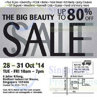 Read more about Branded Big Beauty Sale 28 - 31 Oct 2014