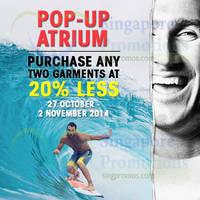 Read more about Billabong Pop-Up Sale @ 313Somerset 27 Oct - 2 Nov 2014