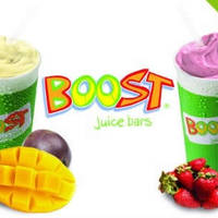 Read more about (Over 4100 Sold) Boost Juice Bars 41% OFF Two Smoothies / Crushes @ 4 Locations 14 Oct 2014