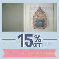 Cath Kidston Spend $300 & Get 15% OFF 20 - 31 Oct 2014