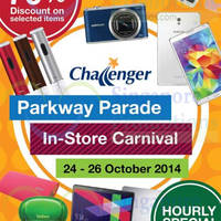 Read more about Challenger In-store Carnival @ Parkway Parade 24 - 26 Oct 2014