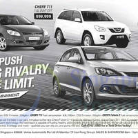 Read more about Chery J3, T11 & Fulwin 2 Offers 11 Oct 2014