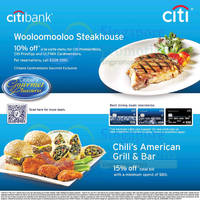 Read more about Chili's 15% OFF For Citibank Cardmembers 5 Oct 2014