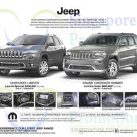 Read more about Chrysler Jeep Cherokee Limited & Grand Cherokee Summit Offers 11 Oct 2014