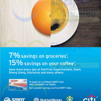Citibank 7% Savings On Groceries With Citibank SMRT Card 2 Oct 2014
